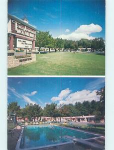 Unused Pre-1980 MOTEL SCENE Lenox - Near Pittsfield Massachusetts MA G7349