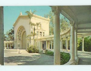 Pre-1980 ORGAN AT BALBOA PARK SCENE San Diego California CA r8681