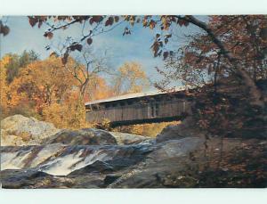 Unused Pre-1980 COVERED BRIDGE Bath New Hampshire NH t8174