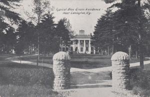 Typical Blue Grass Residence, near LEXINGTON, Kentucky, 1900-10s