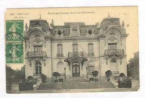 Hotel / Hotel Particulier de la Rue Nationale,Cholet,France 1913 PU