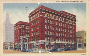 Hotel Davenport Davenport Iowa 1943