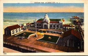 New Jersey Atlantic City Ventnor Pier 1937