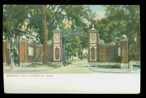 MA, Cambridge, Massachusetts, Johnston Gate, A.C. Bosselman