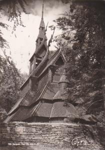 RP; BERGEN, Fantoft Stavkirke, Norway, PU-1953