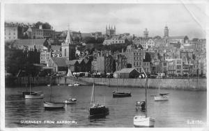 C.I. Guernsey from Harbour Boats, Bateaux, Auto, Cars, real photo