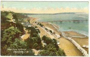 View From Rylstone,Shanklin,Isle Of Wight,England,UK,1908