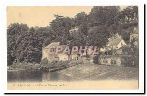 Saint Lo Old Postcard Vire at weir