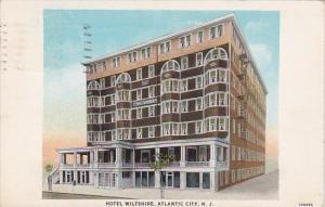 Hotel Wiltshire Atlantic City New Jersey 1937