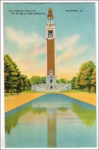 Carillon of 66 Bells War Memorial, Richmond VA
