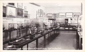 New York Hyde Park Naval Exhibition Room Franklin D Roosevelt Memorial Librar...