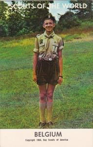 Boy Scouts Of The World In Uniform Belgium