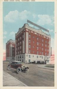 HARTFORD , Connecticut, 1910-30s ; Bond Annex Hotel