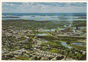Canada Aerial View Dryden Ontario