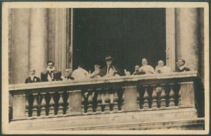 LIB177 - CARTOLINA d'Epoca FOTOGRAFICA    -  CONCILIO VATICANO 1929