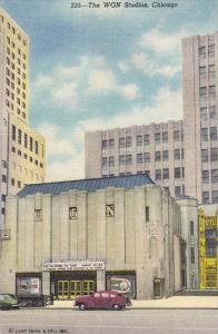 The WGN Studios, CHICAGO, Illinois, 1930-1940s
