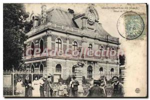 Postcard Old Beaufort En Vallee Hotel De Ville