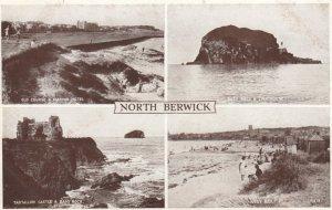 RP: North Berwick, Scotland , UK, 20-30s ; 4 View Postcard