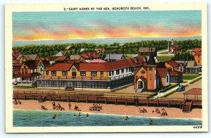 Postcard DE Rehoboth Beach Saint Agnes by the Sea Vintage Linen R15