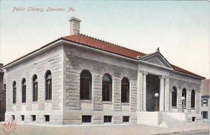 Public Library Lewiston Maine