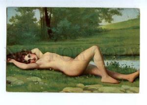 129086 Nude SIREN Mermaid Najade by HENNER Vintage color PC
