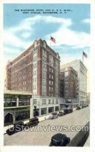 Sagamore Hotel Rochester NY Writing On Back