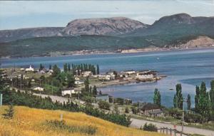 Aerial View, Woody Point, BONNE BAY, Newfoundland, Canada, 40-60´