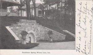 Indiana Winona Lake Studebaker Spring 1906
