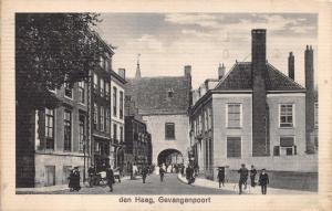 Vintage 1933 Postcard Den Haag, Gevangenpoort, Holland, Netherlands #H