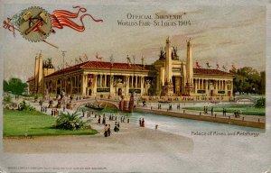 MO - St. Louis, 1904 World's Fair. Palace of Mines & Metallurgy
