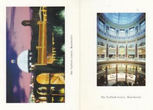 The Trafford Shopping Precinct Centre Manchester 2x Postcard s