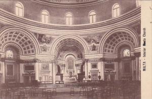MALTA , 00-10s : Interior Musta Church