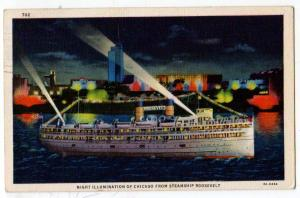 Night, Chicago, from Steamship Roosevelt