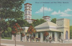 BERMUDA, 30-40s; House of Parliament and Post Office