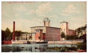 Rhode Island Anthony, Anthony Mill,  ANthony Cancel 1910