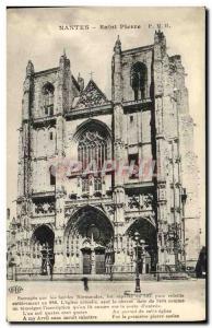 Old Postcard Nantes Saint Pierre