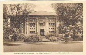 Indiana Greencastle Administration Building De Pauw University Albertype