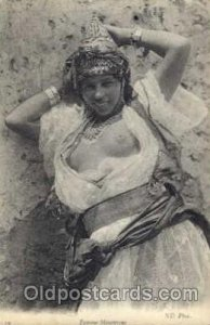 Arab Nude 1909 some wear on right top corner