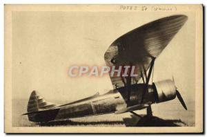 Old Postcard Jet Aviation Potez 50 Gnome Rhone 14