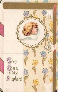 Angel Post Card, Angles Postcard Lord is my Shepherd 1912