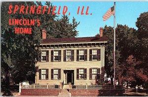 Chrome HISTORICAL SCENE Springfield Illinois IL AH7513
