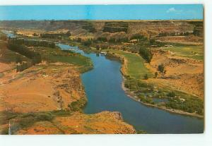 Vintage Postcard Snake River Canyon Blue Lakes Twin Falls Idaho # 2607
