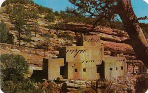Indian Pueblo, Manitou Cliff Dwellings, MANITOU SPRINGS, Colorado, 40-60's