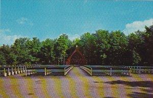 Canada Chapelle Exterieure Beauvoir Sherbrooke Quebec