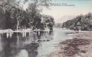 COLOMBO, Ceylon, 1900-1910's; Ratnapura River