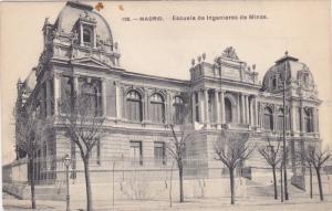 MADRID, Escuela de Ingenieros de Minas, Spain, 00-10s