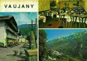 France Vaujany Hotel du Rissiou L'Etendard Pension Postcard