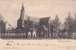 Belgium Louvain Eglise St Jacques 1906