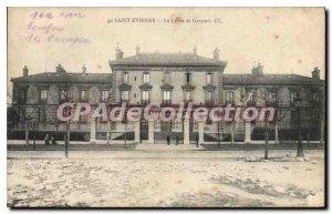 Postcard Old Saint Etiennne The Lycee de Garcons