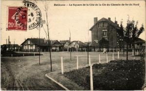 CPA Bethune - Le Square de la Cite de la Cie du Chemin de fer du Nord (800179)